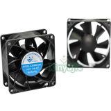 Ventilateur rechargeable électrique sans frottoir 8038 du ventilateur AC/DC de C.C 12V de Shenzhen 80X80X38mm