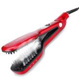 Nouveau design Hair Straightener peigne à vapeur avec affichage LED