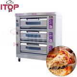 Luxuxmikrocomputer-Steuerpizza-Ofen-elektrischer Handelspizza-Ofen/Backen-Ofen