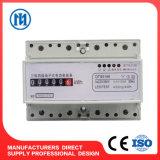 Счетчик энергии Multi-Тарифа цифровой индикации рельса DIN 3 участков