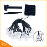 50LEDダイヤモンドの形園遊会のための太陽動力を与えられたストリングライト