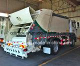 Compressão 6X4 FAW caminhão de lixo, 18m3 caminhão de lixo do compactador