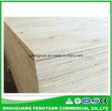 1220X2440m m, madera contrachapada comercial de la base del álamo barato