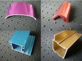 Quadrat, rundes, unterschiedliches Aluminiumlegierung-Strangpresßling-Profil für Tür und Fenster-Gefäß 35