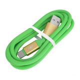 유형 C를 위한 다채로운 사탕 USB 데이터 케이블
