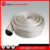 Linha mangueira material do PVC da boca de incêndio de incêndio do revestimento do algodão