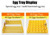 Exploração 36 Ovos Mini-incubadora de ovos de galinha com caixa automática