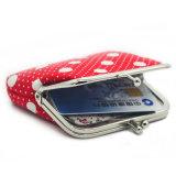 نساء معدن مفتاح اعتمادات محفظة [كرد هولدر] عملة محفظة حقيبة