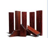 6061 profil alliage en aluminium/d'aluminium avec enduit en bois