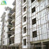 El panel de emparedado compuesto incombustible impermeable para el edificio modular