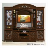 Casa de madera Soporte de TV Salón Sala gabinete