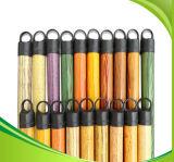 ручка веника 120cm покрынная PVC деревянная