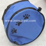 De milieuvriendelijke Waterdichte Vouwbare draagbare Nylon Kommen van de Hond van het Huisdier