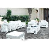 Muebles de mimbre del ocio al aire libre de aluminio para la venta