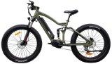 2018の脂肪タイヤの完全な中断Bafangはモーター電気バイクの自転車Ebikeを中間運転する