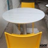 現代円形の白い固体表面の食卓(T1711201)