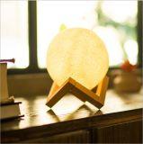 lumière créatrice de nuit de la lampe USB DEL de lune de cadeau de nouveauté de l'impression 3D