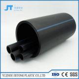 흑백 PE는 건축재료 물 이동을%s HDPE 관을 배관한다