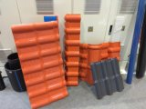 Linea di produzione lustrata PVC del macchinario dell'espulsore di Plasic del tetto dell'onda