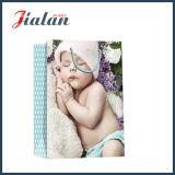 Bolsa de papel impresa diseño al por mayor del regalo de las compras de la Navidad del bebé el dormir