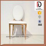Модный стул нержавеющей стали венчания золота металла верхнего сегмента
