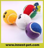 Kundenspezifische Firmenzeichen-Qualitäts-Haustier-Tennis-Kugeln, Hundespielzeug-Kugel