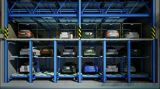 Sistema Multi-Level do estacionamento de veículo do enigma de 3 níveis