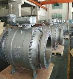 API 6Dの鋳造物鋼鉄分割されたボディAPI 608の反Staticsを用いる全量トラニオンサポート球弁