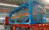 20ft Csc de petróleo crudo eje 3/depósito de gasolina/diesel contenedor cisterna semi remolque