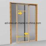Muelle de puerta ajustable de la protección del medio ambiente de la presión de aire de la velocidad cerrada de la puerta de 38 pulgadas
