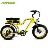 安いPUのシートの脂肪質のタイヤの電気バイク