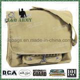 Estilo Vintage Stonewashed Paratrooper Militar Messenger Saco de ombro