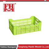 플라스틱 주입 과일 회전율 수송 크레이트 상자 형은 정지한다
