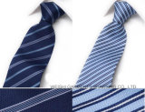 Corbata rayada de la seda popular