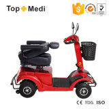 Tew204無効および年配者のための4つの車輪が付いているイギリスのページのコントローラ力の移動性のスクーター