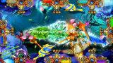 El rey 3 monstruo del océano despierta la máquina de juego de arcada de los pescados de juego del casino