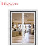 Puerta deslizante de cristal de aluminio de la fábrica de Foshan