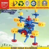 Giocattolo da tavolino educativo di plastica del robot della costruzione dei bambini