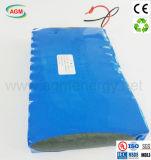 Batteria di ione di litio di riserva personalizzata della batteria di potere di 24V 18ah