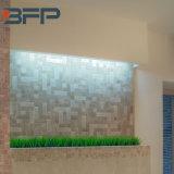 Белый бежевый мрамор, мраморный водоструйная мозаика - плоская, шестиугольник, Chevron, фонарик, ромбоид