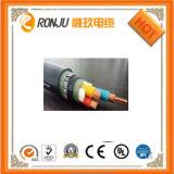 El fumar inferior acorazado del alambre de acero del aislante de XLPE y cable de transmisión ignífugo del halógeno libremente