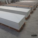 superficie solida di pietra artificiale bianca del ghiacciaio di 12mm per i controsoffitti (M170920)