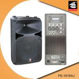 15 Spreker pS-1915au van de FM van de duim USB BR de Plastic Actieve 200W