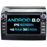 Witson Acht Androïde 8.0 Auto van de Kern DVD voor IPS van ROM van het Scherm van de Aanraking van ROM 1080P van FIAT Ducato 4G 32GB het Scherm
