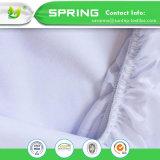 綿によって合われるシートの防水通気性のマットレスの保護装置のサイズの倍