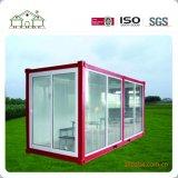 Casa modulare prefabbricata moderna del pacchetto piano del pannello a sandwich/Camera di ufficio prefabbricata contenitore/della costruzione