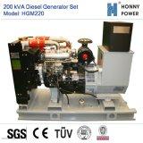 200kVA de diesel Reeks van de Generator met Googol Motor 50Hz