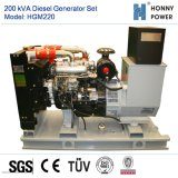 200kVA conjunto gerador a diesel com motor Googol 50Hz