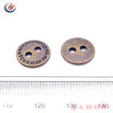 Ligas metálicas em Botões de costura 2 orifícios de botões para camisas Vestuário Vestuário