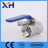 1PC 304 Válvula de Esfera de Aço Inoxidável DN20